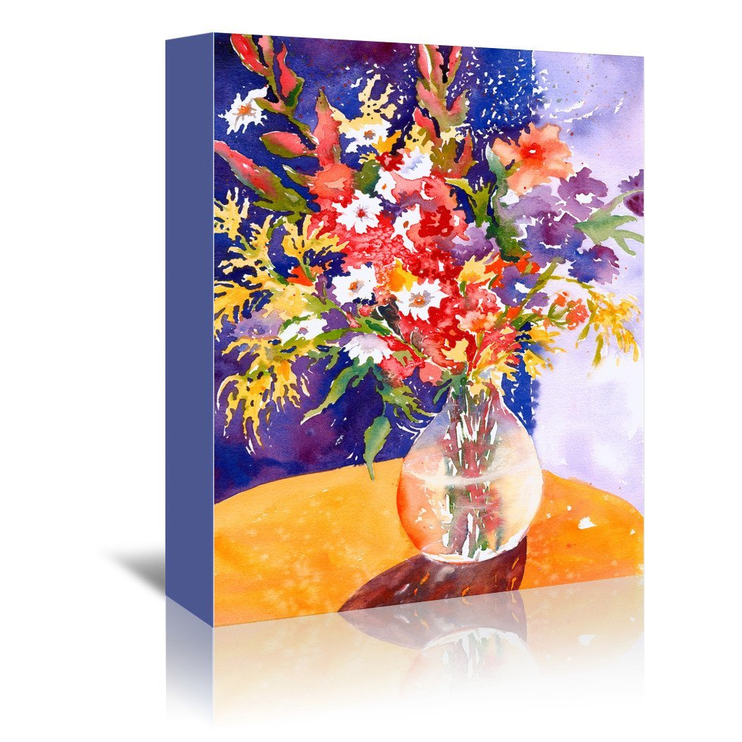 Bursting Forth by Sunshine Taylor Wrapped Canvas - Wrapped Canvas - Americanflat