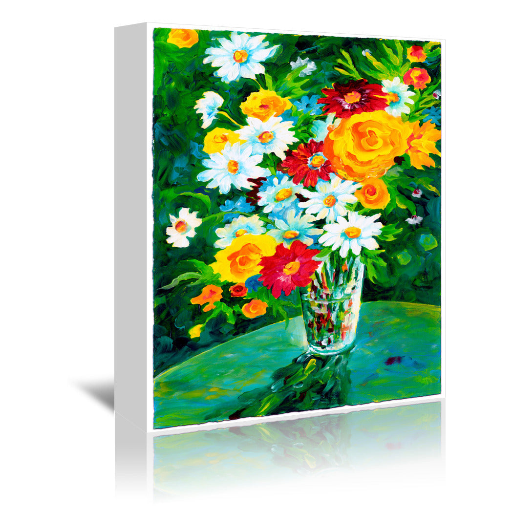 Gardens Sparklers by Sunshine Taylor Wrapped Canvas - Wrapped Canvas - Americanflat