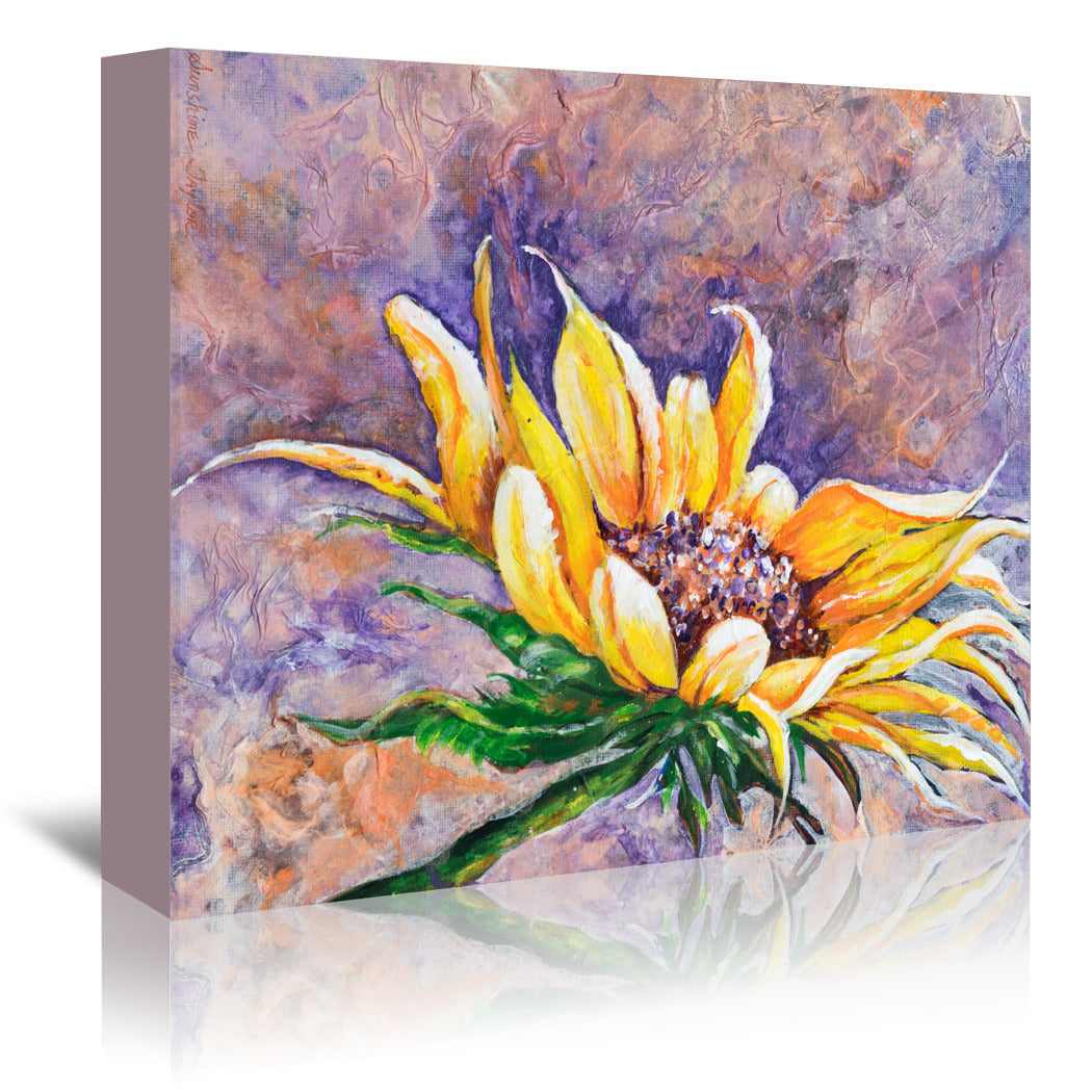 Greeting The Sun by Sunshine Taylor Wrapped Canvas - Wrapped Canvas - Americanflat
