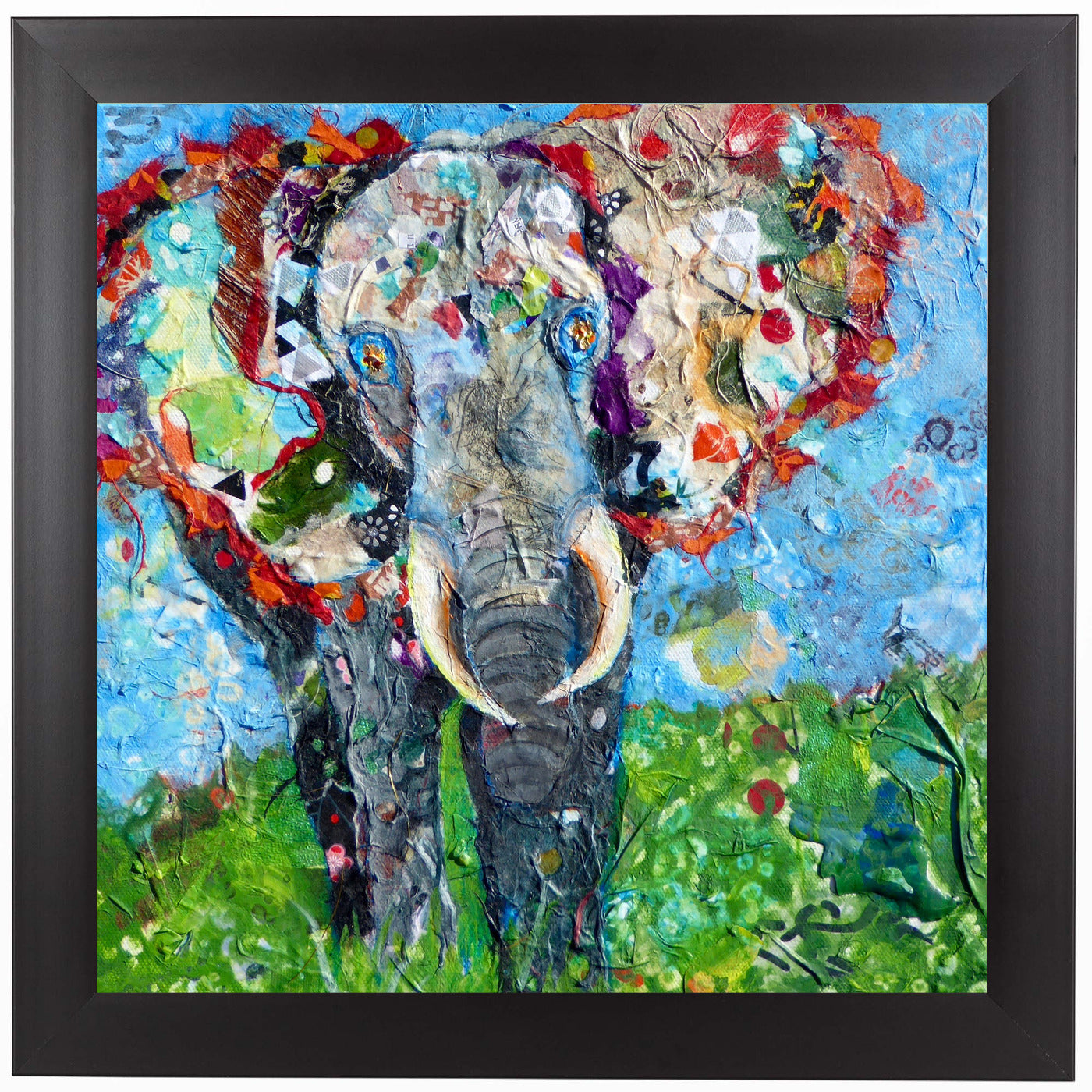 Elephant by Sunshine Taylor Framed Print