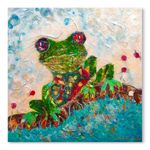 Frog by Sunshine Taylor Art Print