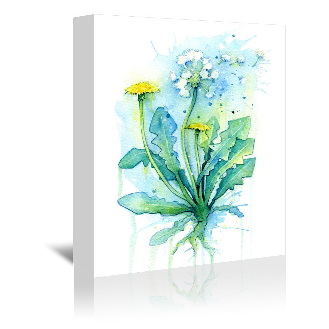 Dandelion by Sam Nagel Wrapped Canvas - Wrapped Canvas - Americanflat