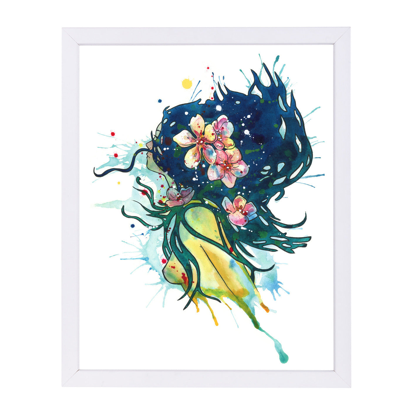 Water Nymph by Sam Nagel Framed Print - Americanflat