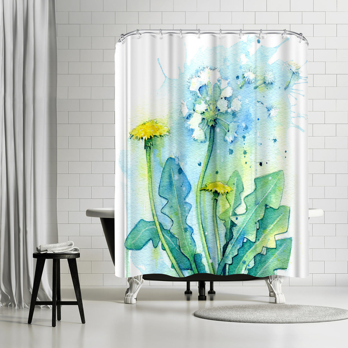 Dandelion by Sam Nagel Shower Curtain -  - Americanflat