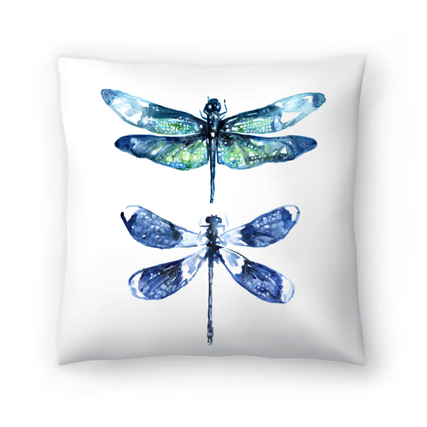 Dragonfly Wings by Sam Nagel Decorative Pillow