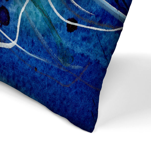 Emperor Jellyfish by Sam Nagel Decorative Pillow