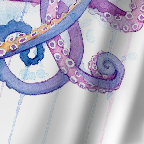 Octopus Ii by Sam Nagel Shower Curtain
