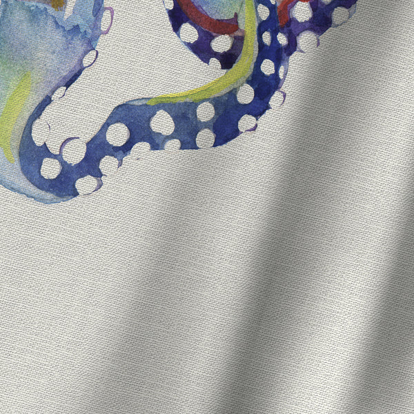 Octopus Natural by Sam Nagel Shower Curtain