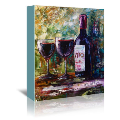 Aged Wine by OLena Art Wrapped Canvas - Wrapped Canvas - Americanflat