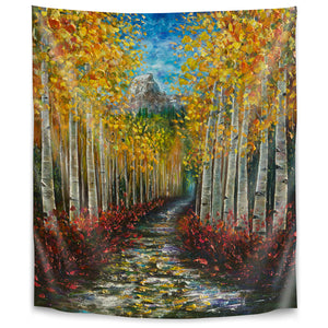 Nelly Creek by Olena Art Tapestry