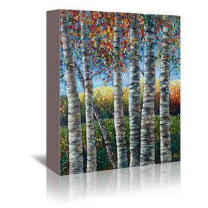 Rocky Mountain High by OLena Art Wrapped Canvas