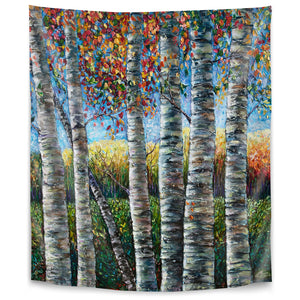 Rocky Mountain High by Olena Art Tapestry