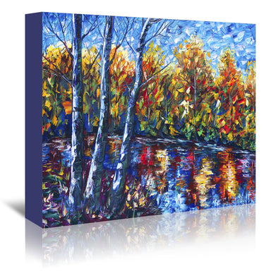 Dreaming Forest by OLena Art Wrapped Canvas - Wrapped Canvas - Americanflat