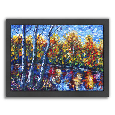 Dreaming Forest by OLena Art Framed Print - Americanflat