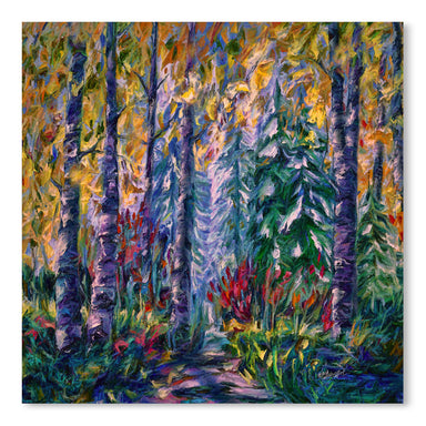 Deep In The Woods by OLena Art  Print - Art Print - Americanflat