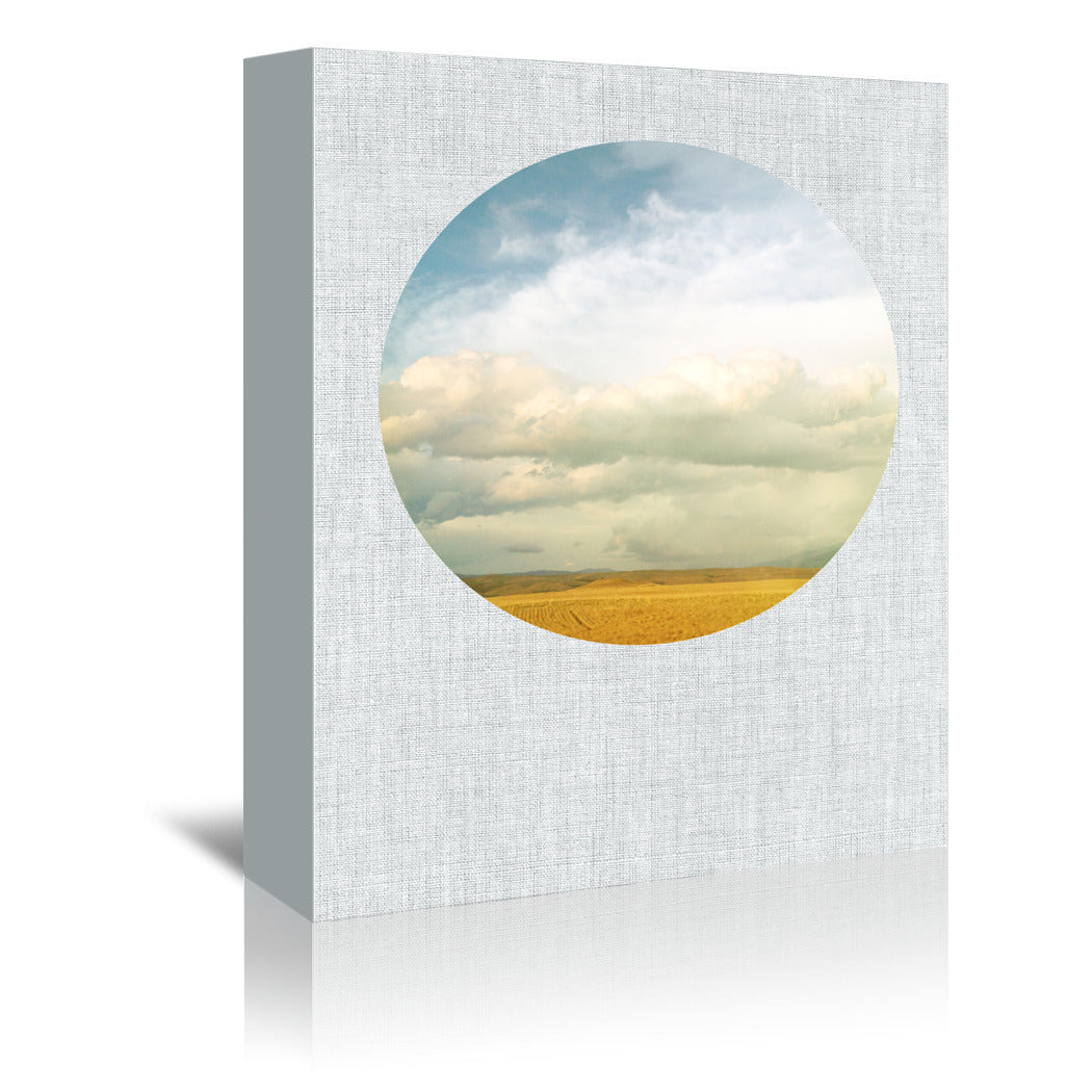 Cloud Cover by Annie Bailey Wrapped Canvas - Wrapped Canvas - Americanflat