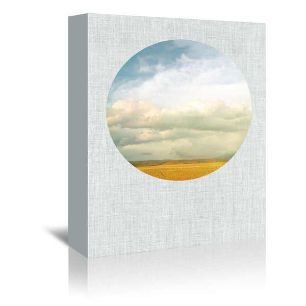 Cloud Cover by Annie Bailey Wrapped Canvas