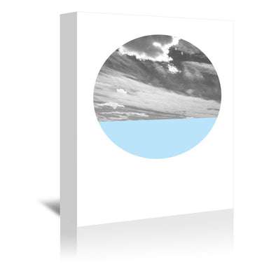 Cloudscape And Blue by Annie Bailey Wrapped Canvas - Wrapped Canvas - Americanflat