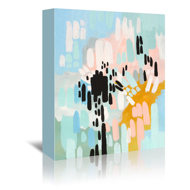 Collisions by Annie Bailey Wrapped Canvas - Wrapped Canvas - Americanflat