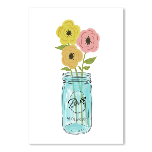 Country Flowers by Annie Bailey Art Print