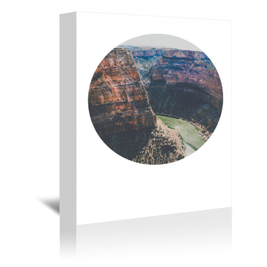 Devils Canyon by Annie Bailey Wrapped Canvas - Wrapped Canvas - Americanflat