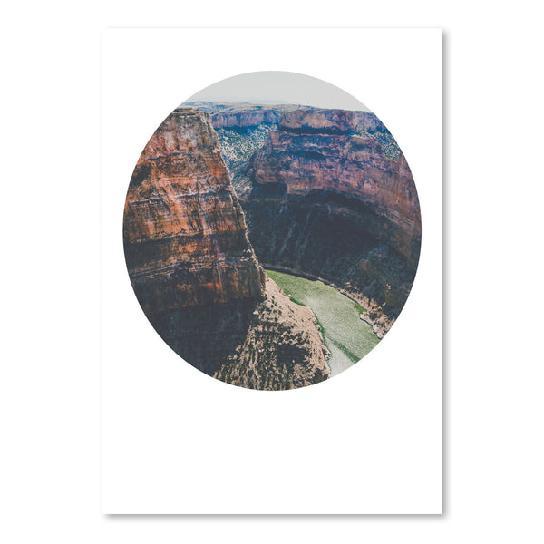Devils Canyon by Annie Bailey Art Print