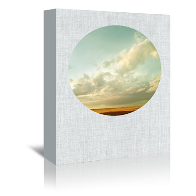 Dirt Road Sunset by Annie Bailey Wrapped Canvas - Wrapped Canvas - Americanflat