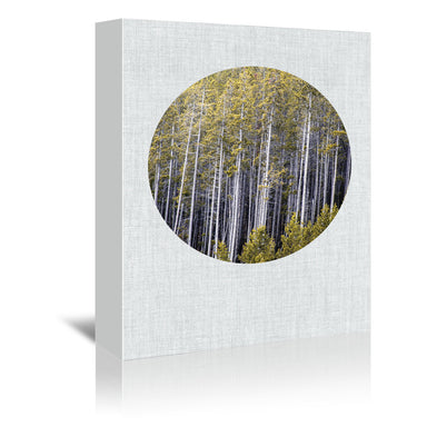 Into The Forest by Annie Bailey Wrapped Canvas - Wrapped Canvas - Americanflat