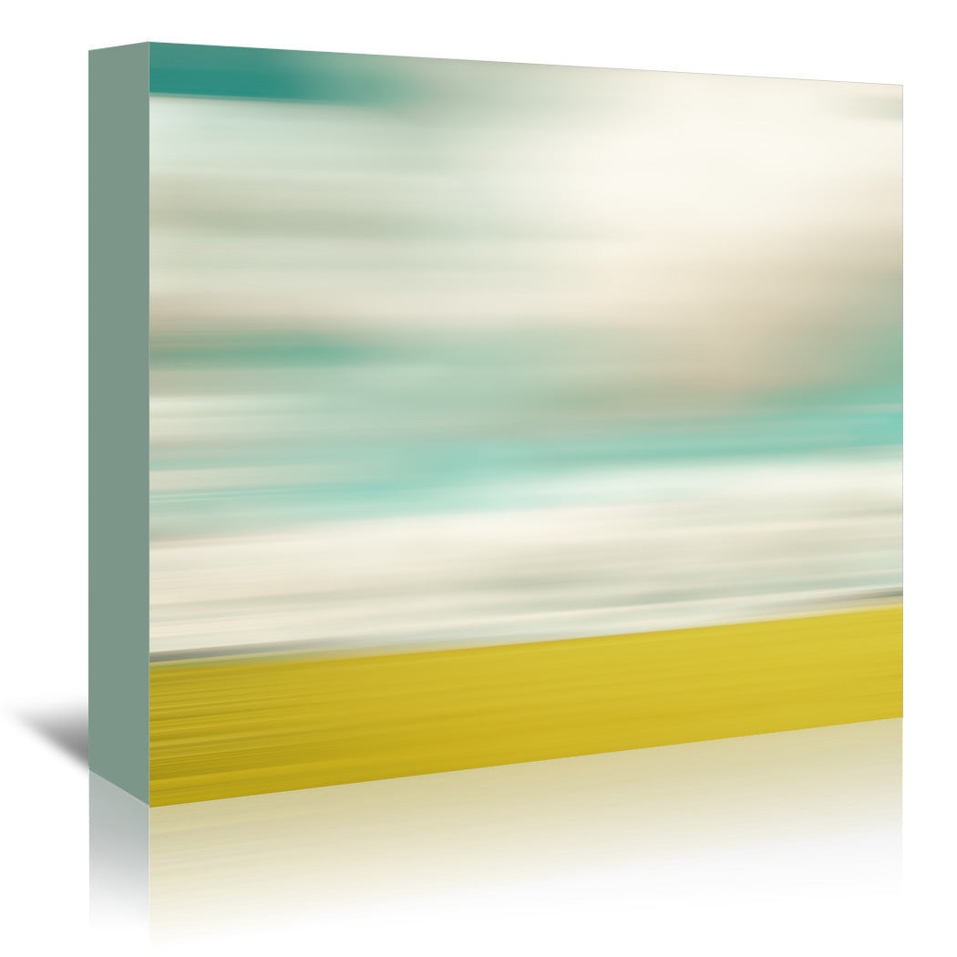 Landscape No 1 by Annie Bailey Wrapped Canvas