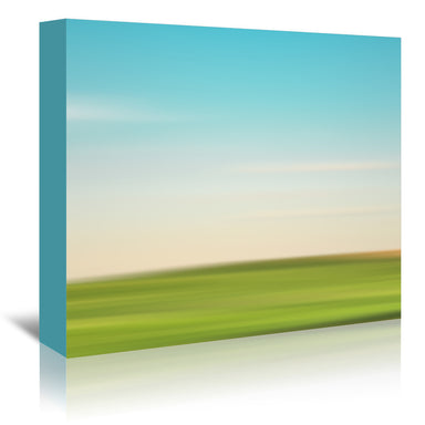 Landscape No 3 by Annie Bailey Wrapped Canvas - Wrapped Canvas - Americanflat