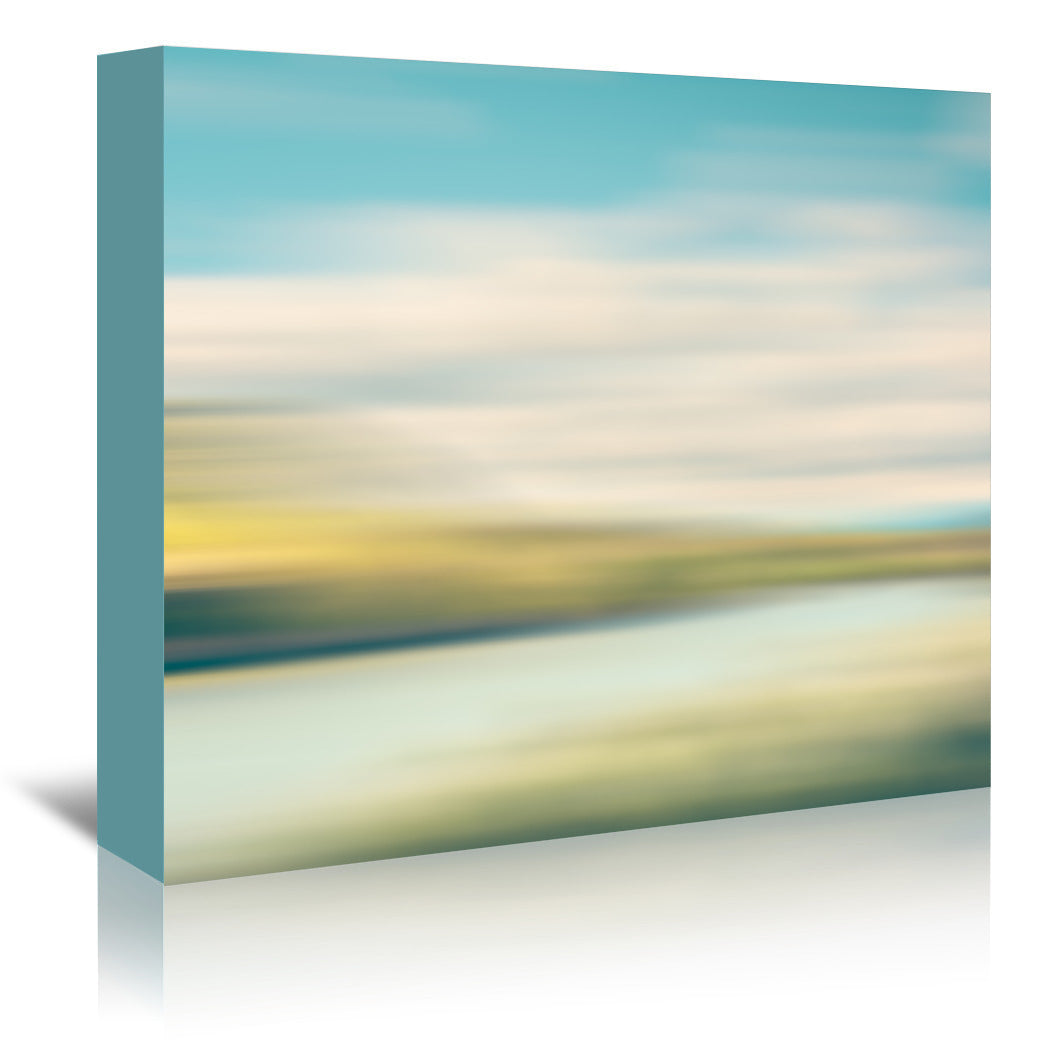 Landscape No 4 by Annie Bailey Wrapped Canvas - Wrapped Canvas - Americanflat