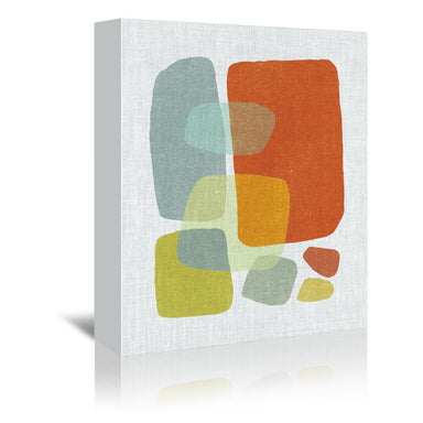Pods No 1 by Annie Bailey Wrapped Canvas - Wrapped Canvas - Americanflat