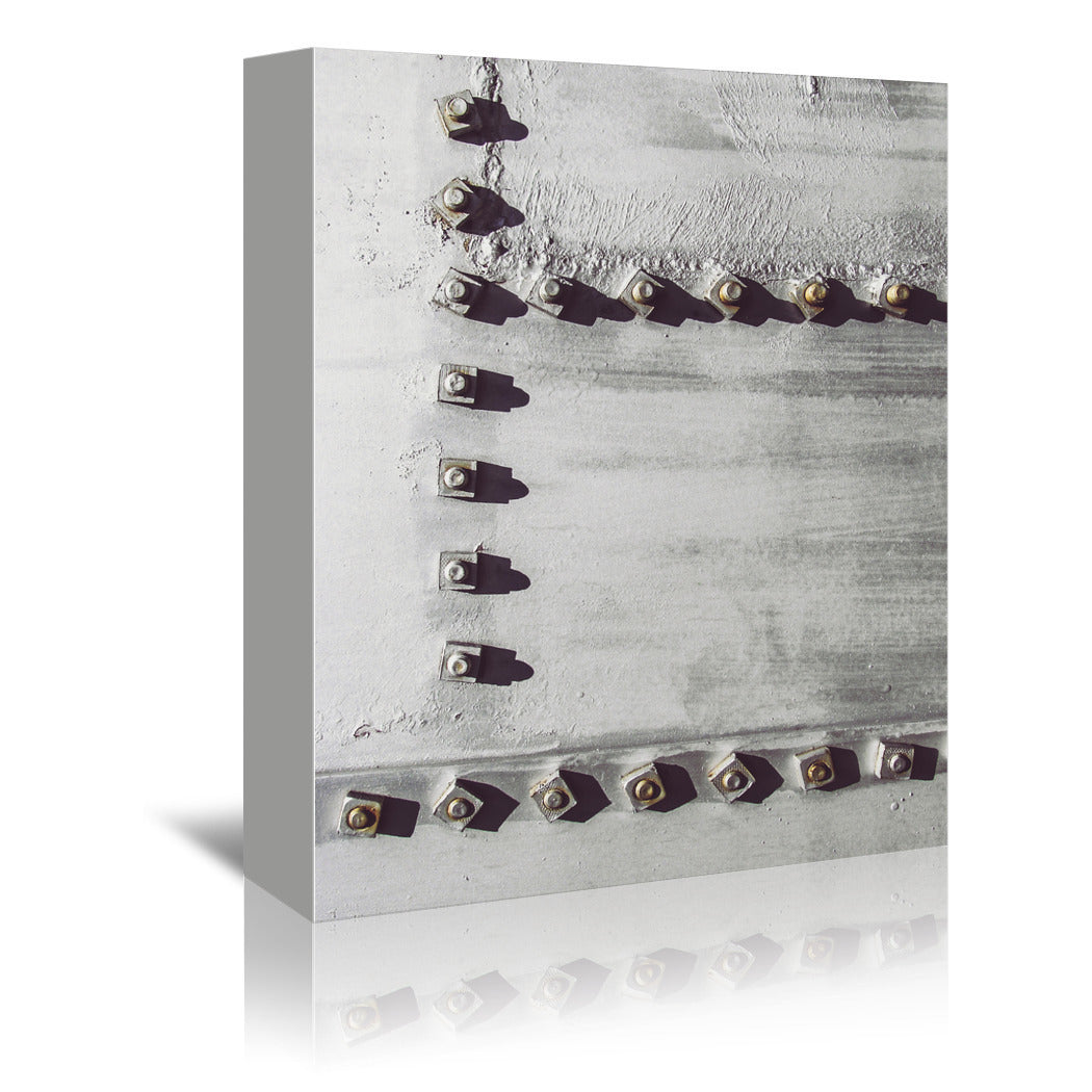 Rivets No 3 by Annie Bailey Wrapped Canvas - Wrapped Canvas - Americanflat