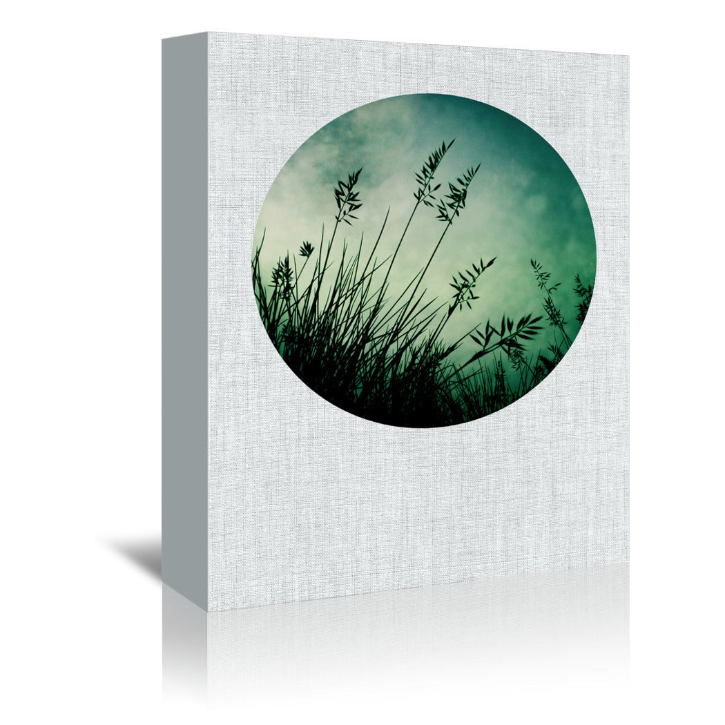 Silhouette by Annie Bailey Wrapped Canvas - Wrapped Canvas - Americanflat