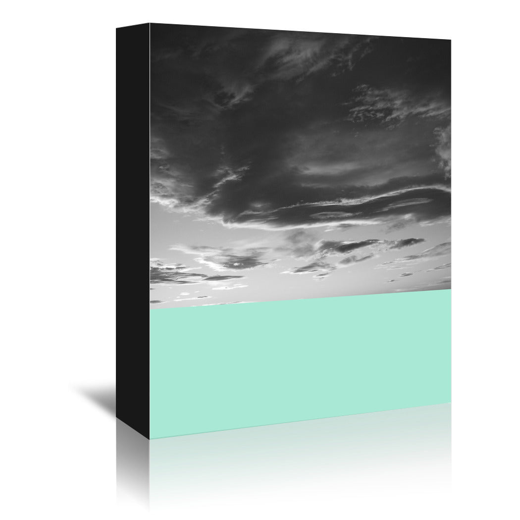 Skyscape No 4 by Annie Bailey Wrapped Canvas - Wrapped Canvas - Americanflat