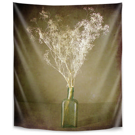The Green Bottle by Annie Bailey Tapestry