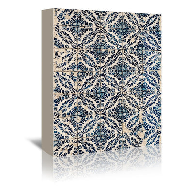 Azulejos I by Ingrid Beddoes Wrapped Canvas - Wrapped Canvas - Americanflat