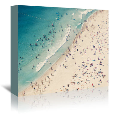 Beach Love Ii by Ingrid Beddoes Wrapped Canvas - Wrapped Canvas - Americanflat