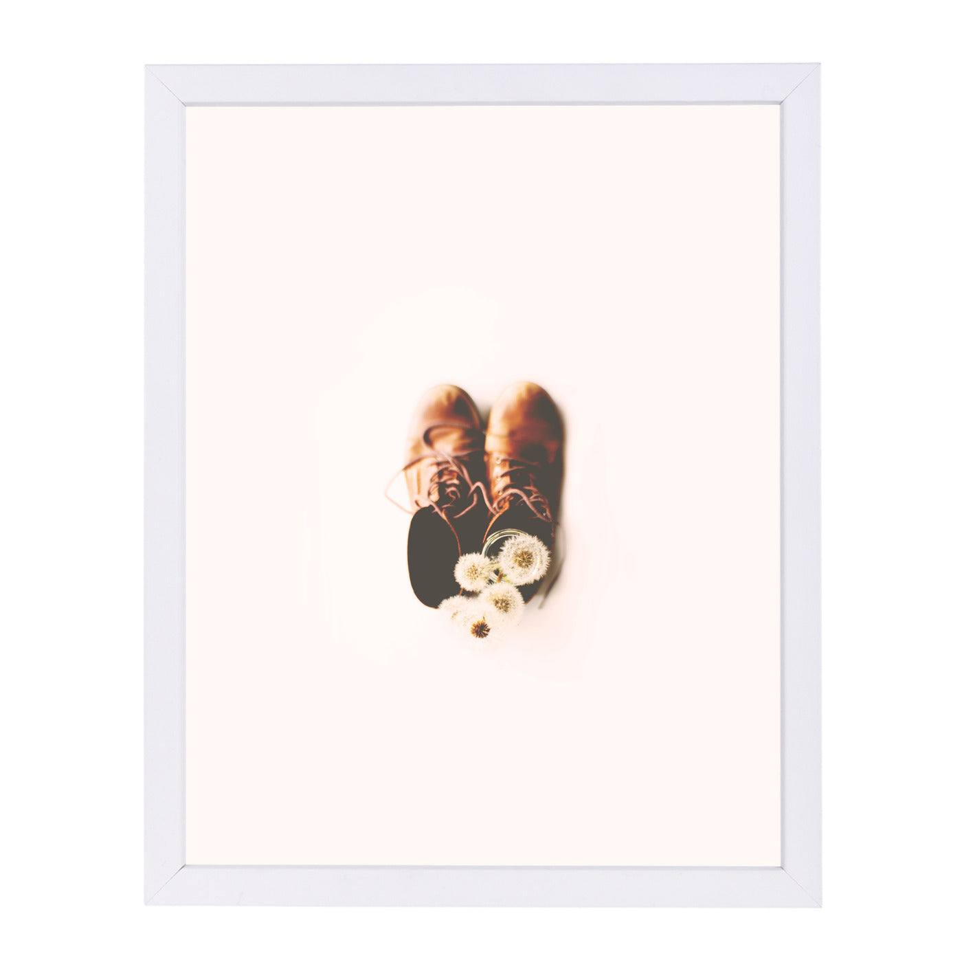 Do Small Things With Much Love by Ingrid Beddoes Framed Print - Americanflat