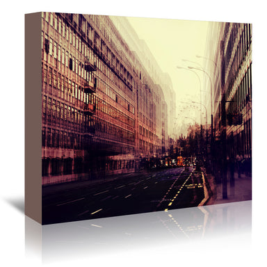 London by Ingrid Beddoes Wrapped Canvas - Wrapped Canvas - Americanflat
