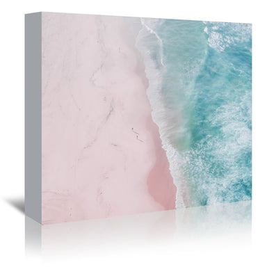 Ocean Walk by Ingrid Beddoes Wrapped Canvas - Wrapped Canvas - Americanflat