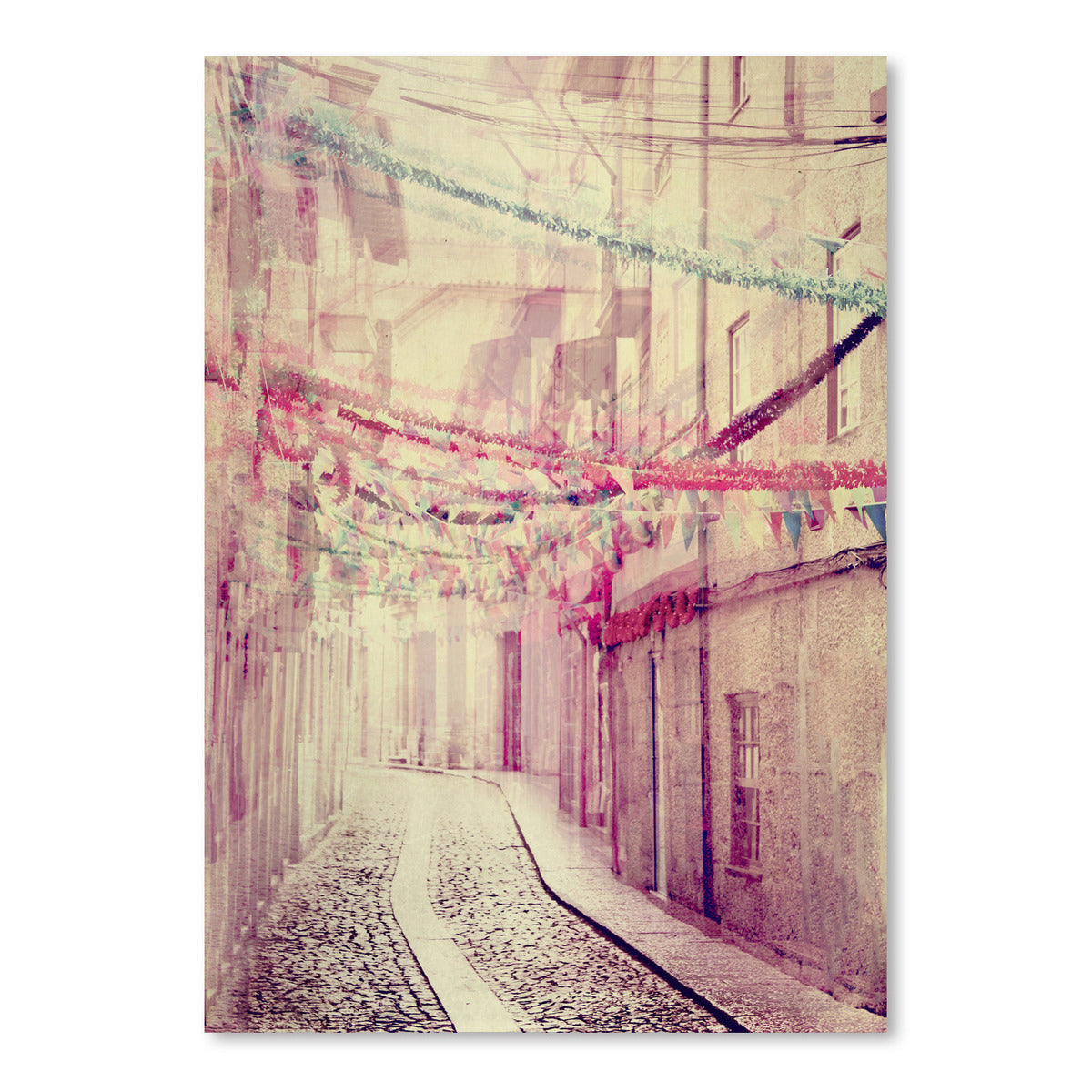 Street Party by Ingrid Beddoes Art Print - Art Print - Americanflat