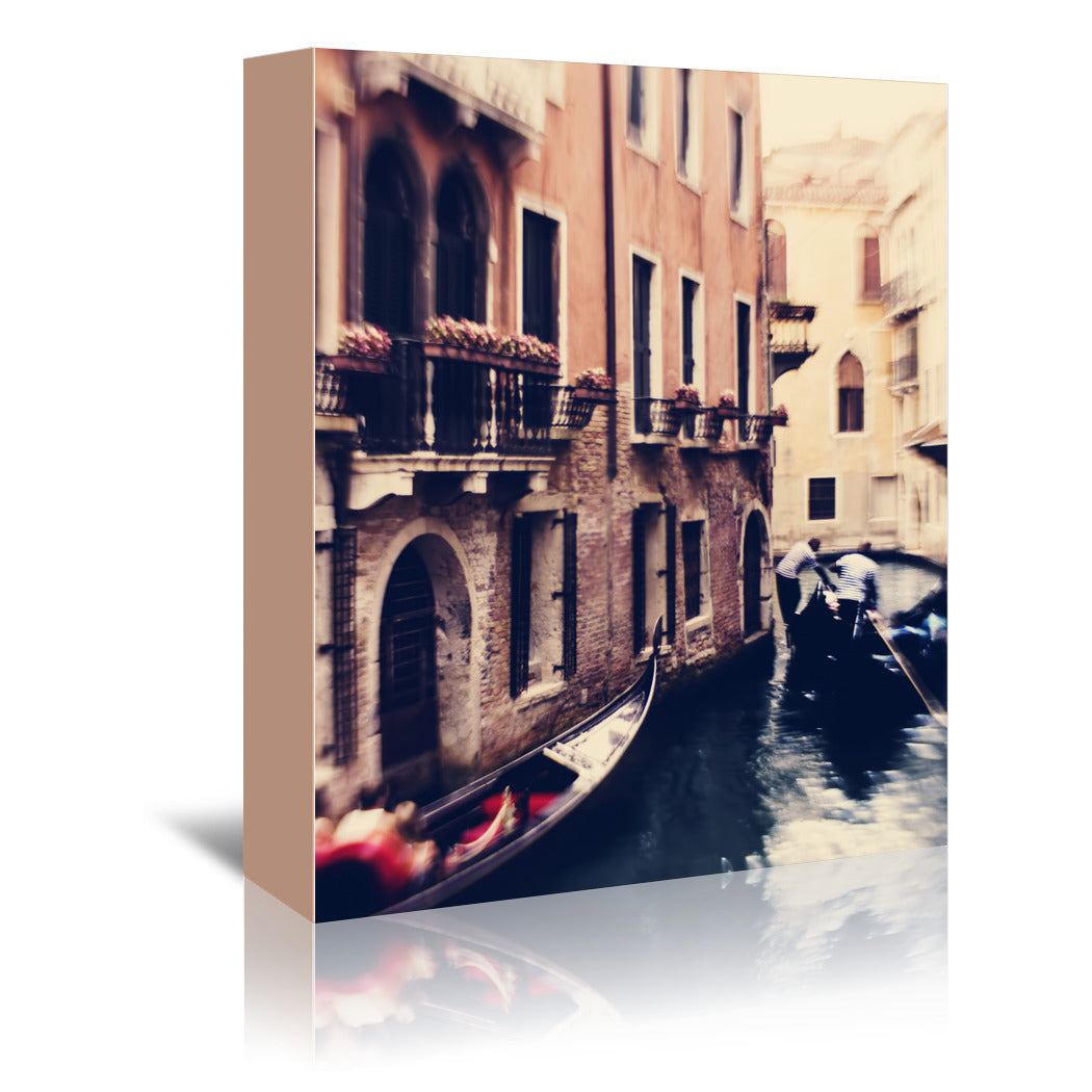 Venice Gondola by Ingrid Beddoes Wrapped Canvas - Wrapped Canvas - Americanflat