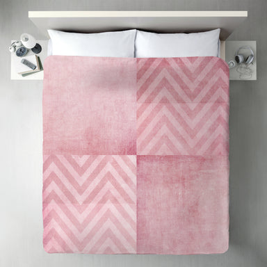 Dusty Pink Chevron by Ingrid Beddoes Duvet Cover - Duvet Covers - Americanflat