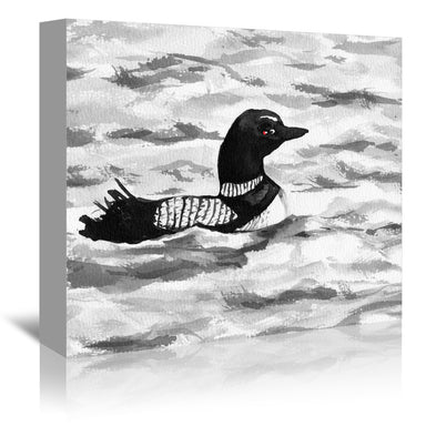 Common Loon by Brazen Design Studio Wrapped Canvas - Wrapped Canvas - Americanflat