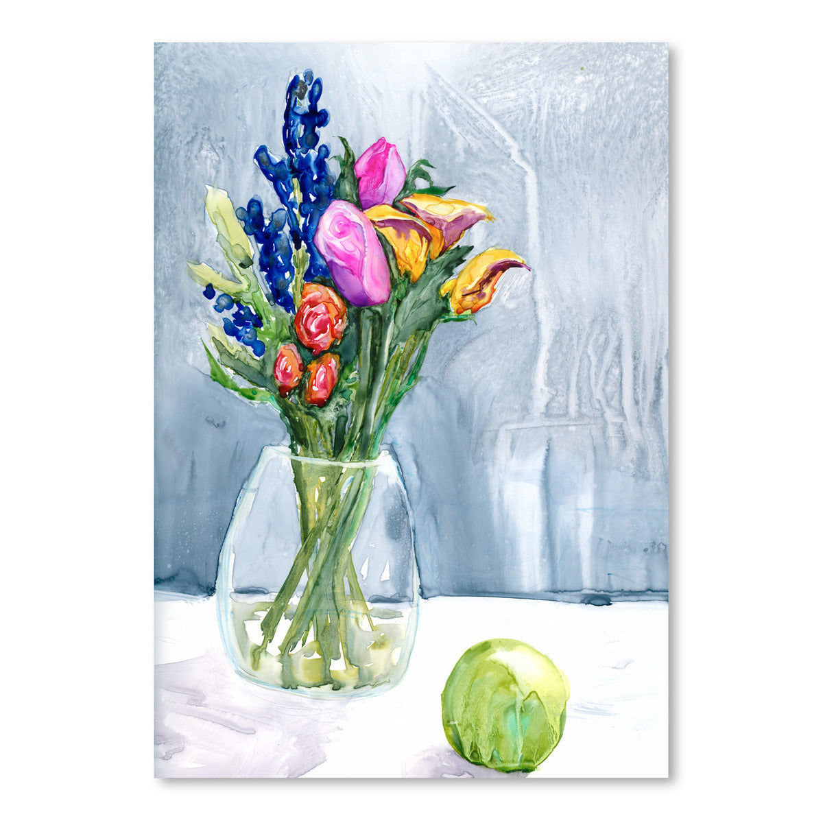 Fresh Flowers by Brazen Design Studio Art Print - Art Print - Americanflat