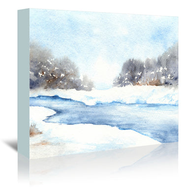 Mid Winters Musing by Brazen Design Studio Wrapped Canvas - Wrapped Canvas - Americanflat