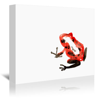 Poison Dart Frog by Brazen Design Studio Wrapped Canvas - Wrapped Canvas - Americanflat