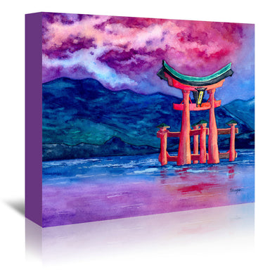 Tori Iru by Brazen Design Studio Wrapped Canvas - Wrapped Canvas - Americanflat
