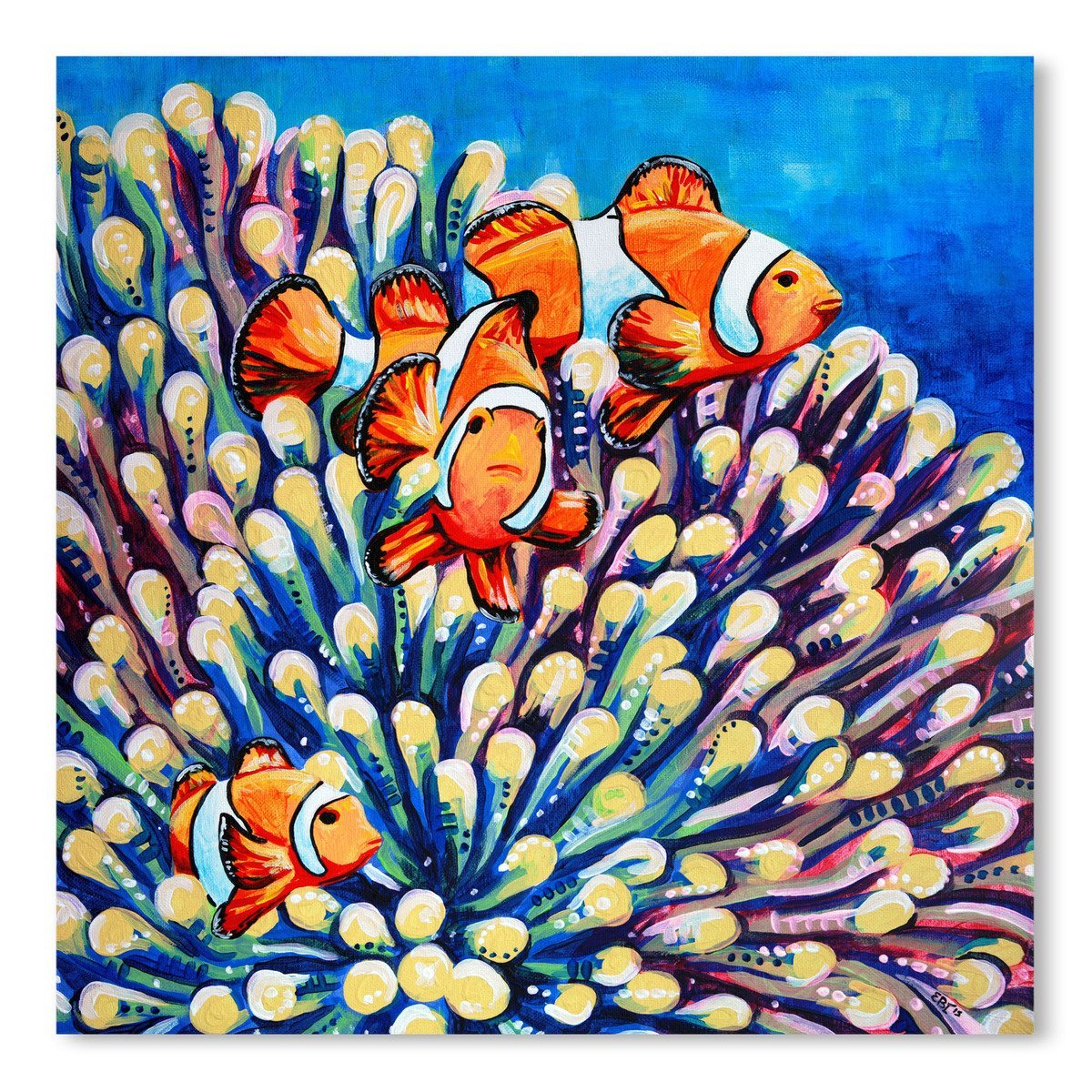 Clown Fish by Eve Izzett Art Print - Art Print - Americanflat